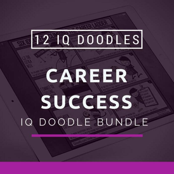 Career Success IQ Doodle Bundle
