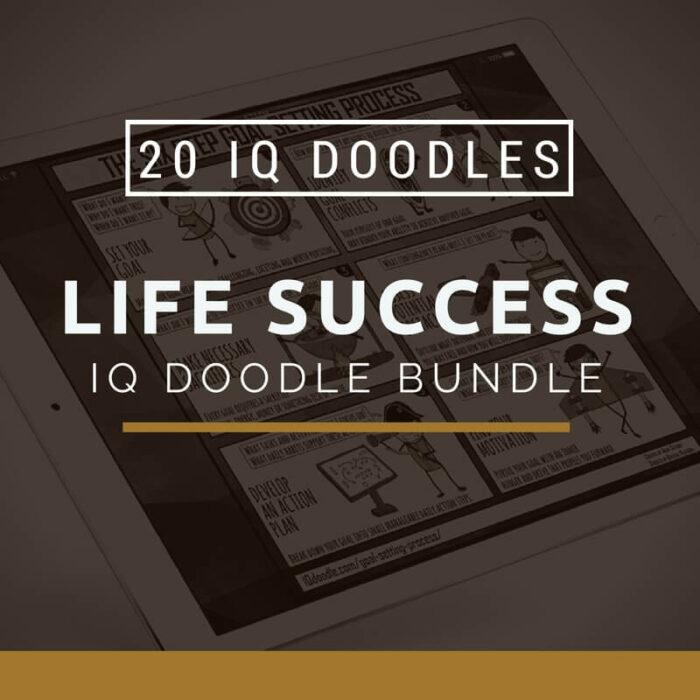 Life Success IQ Doodle Bundle